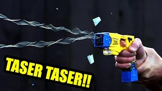 CRAZY TASER STORIES!! (& MY SECRET SURPRISE!)