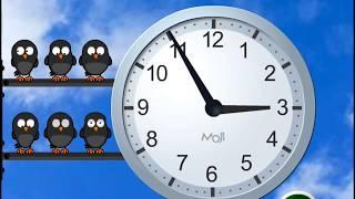 Учим время. Как выучить время. Учим часы. Учим время на часах
