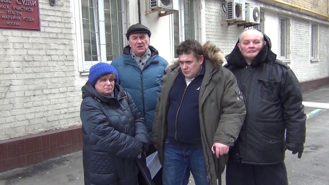 Суд выгнал Ивана Егорова с заседания