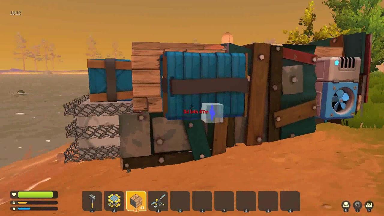 scrap mechanic #3 craft bot
