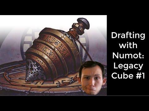 MTG | Drafting with Numot: Legacy Cube Draft #1