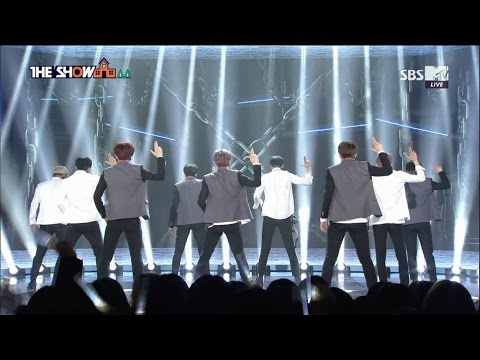 SF9 (에스에프나인) - BOY IN LUV _ BTS (상남자_방탄소년단) Special Stage @SBS MTV THE SHOW