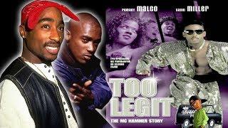 """MC HAMMER & TUPAC'S TRUE RELATIONSHIP """"TOO LEGIT"""" MOVIE"""