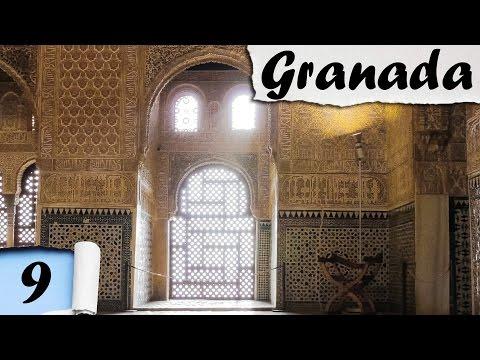 EXPLORING ALHAMBRA Y GENERALIFE - Granada [ENG subs]