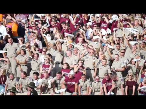 The 12th Man at Texas A&M Rocking Kyle Field