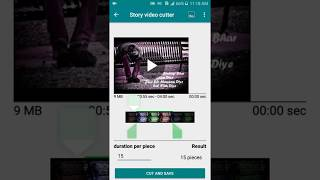 story video cutter for whatsApp,snapchat,instagram,facebook