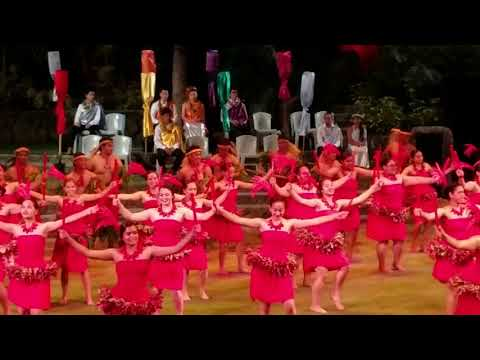Kahuku High School May day 2018 Tahiti