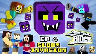 Adventure Block - Episode 4 - The SLOOM INVASION (Season 1 Finale | FGTEEV MINECRAFT MINI-SERIES)