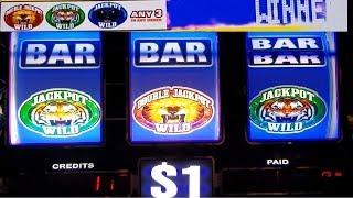 Double Lion Slot Machine Progressive JACKPOT Won | Max bet $9 | Slot Machine Pokies w/NG Slot