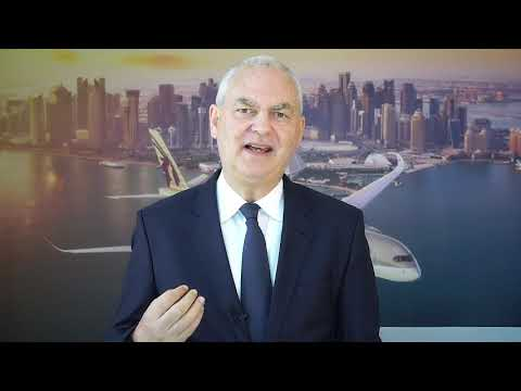 ITM 2021  Chief Commercial Officer, Thierry Antinori | Qatar Airways