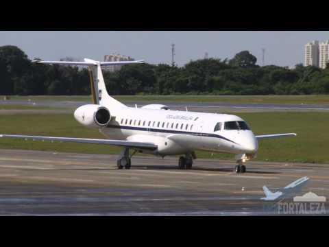 [SBFZ/ FOR] Decolagem RWY13 Embraer C-99A (EMB-145ER) FAB2526 23/05/2015