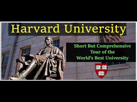 Harvard University Campus Tour  - World Best University - 2016