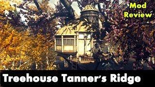 Skyrim Home Mod: Best TreeHouse for Skyrim (MOD) Archer Theme