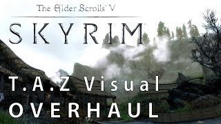 Skyrim: T.A.Z Visual Overhaul - Original vs. Mod-Grafikpracht