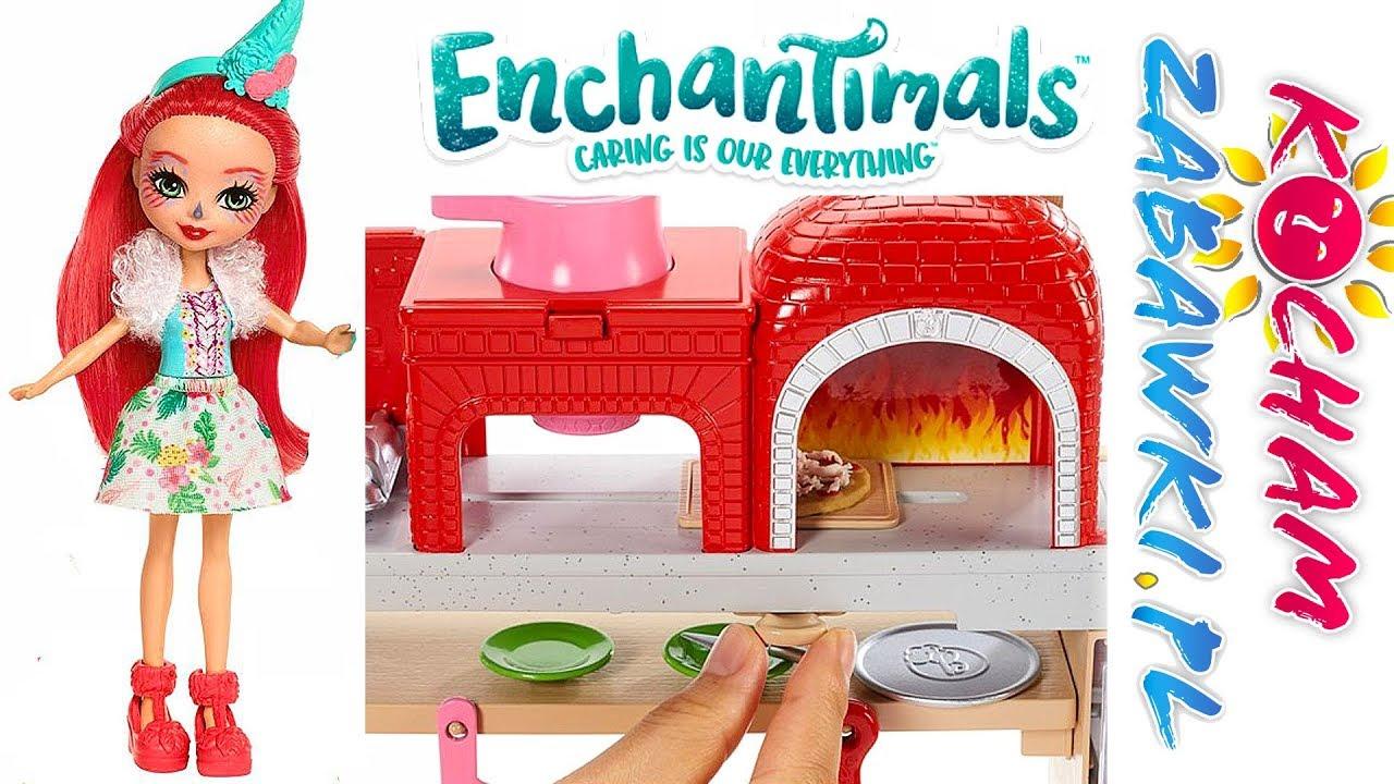 Enchantimals • Najlepsza pizza na świecie • Barbie Pizza Chef • bajki po polsku