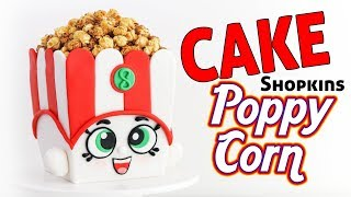 SHOPKINS CAKE - Poppy Corn ☆ Tan Dulce