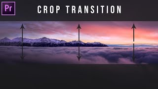 Crop Opening Transition Effect How To EASY (Black Bars Open Close) Adobe Premiere Pro CC Tutorial