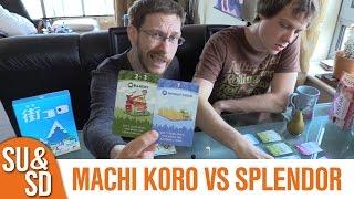 Machi Koro Vs Splendor - Shut Up & Sit Down Review(s)
