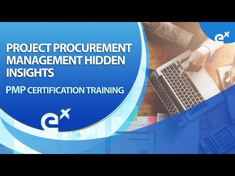PMP® Certification Training 2018 : Project Procurement Management ...
