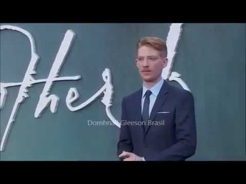 Domhnall Gleeson at the mother! UK Premiere