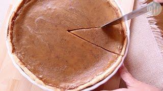 Pumpkin Pie From Fresh Pumpkin | Video Recipe