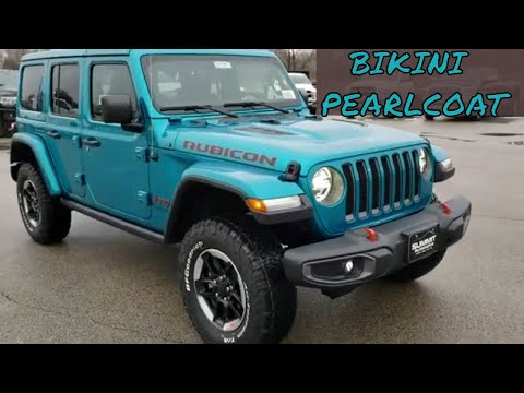 2020 Jeep Wrangler Unlimited Rubicon Blue