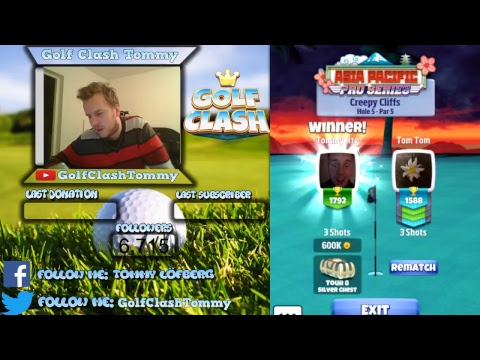 Livestream from Golf Clash Tommy