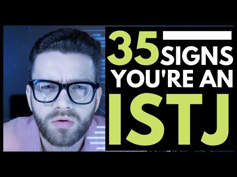 35 SIgns You Are An ISTJ