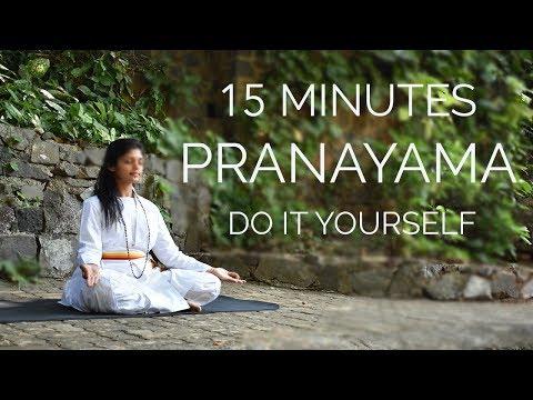 15 Minutes Pranayama | Do It Yourself | SRMD Yoga