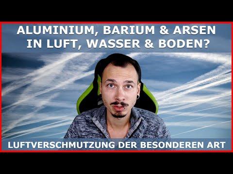 LUFTVERSCHMUTZUNG der besonderen Art - Aluminium, Barium, Arsen, Quecksilber in der Luft?