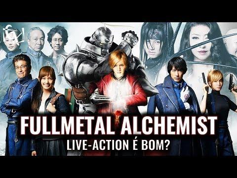 LIVE ACTION DE FULLMETAL ALCHEMIST É BOM?   REVIEW