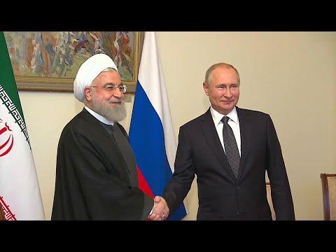 В Ереване состоялась встреча Владимира Путина с президентом Ирана Хасаном Рухани.