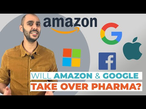 Amazon & Google: will they take over pharma?