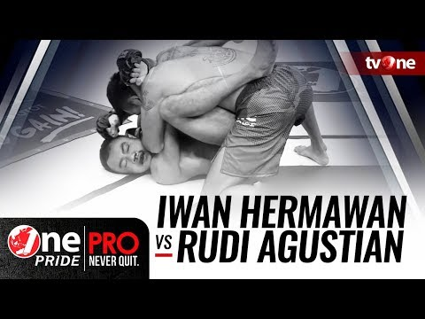 [HD] One Pride MMA #3: Iwan Hermawan VS Rudi Agustian - Flyweight Rangking Fight