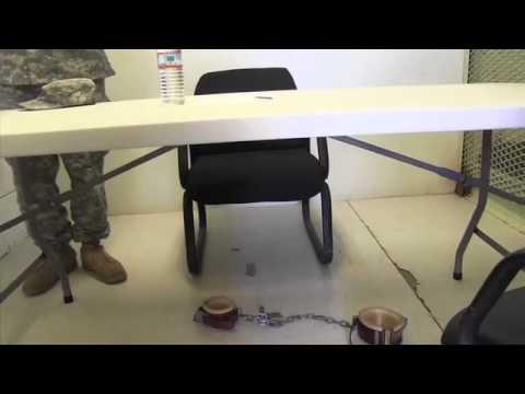 Inside Camp Echo at Guantánamo Bay