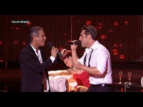 """David Bustamante y Pitingo cantan """"Contigo en la distancia"""" en """"El Número Uno"""""""