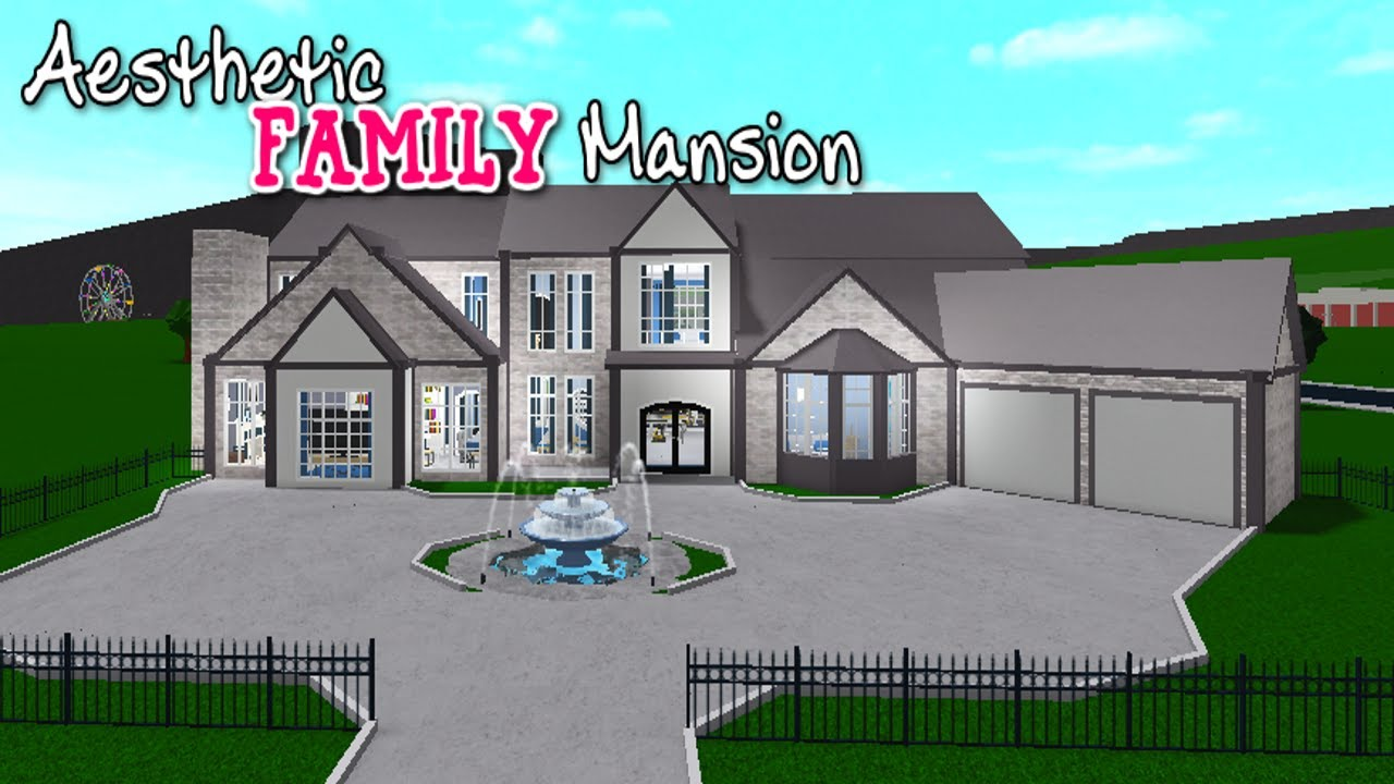 Bloxburg: Aesthetic Family Mansion