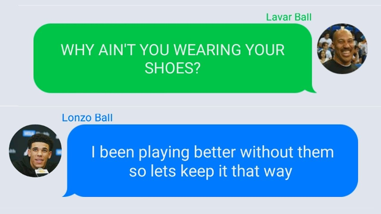 LaVar Ball says Lonzo wearing different shoes is a statement to brands