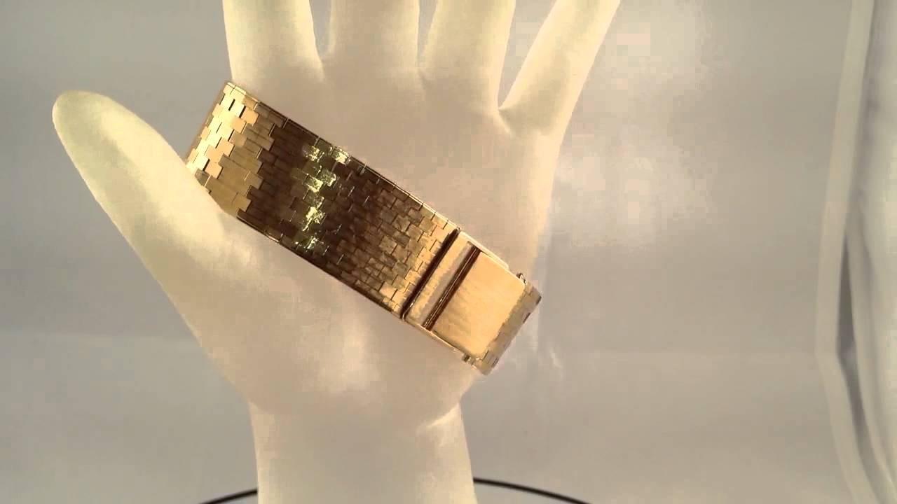 Bracelet Watch Strap Watch 18k Gold Bracelet