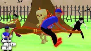 Нашёл Кладбище и Катаюсь на Метле Ведьмы в СИМУЛЯТОР КРУТОГО ЧУВАКА! - Dude Theft Wars: Open World