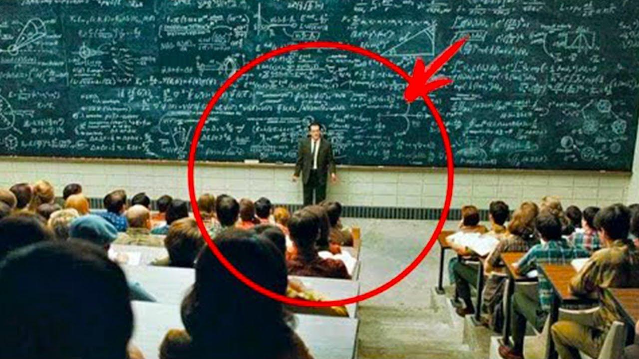 دخل هذا الطالب متأخر 20 دقيقة وساله المدرس سؤالين .. ولكن اجابته تركت المدرس مذهولا !!