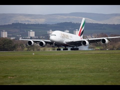 Emirates A380 in Glasgow | Glasgow | Emirates Airline