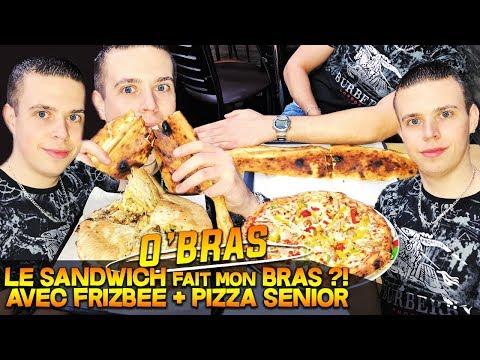 big-sandwich-de-la-taille-d'un-bras-+-frizbee-+-pizza-senior-30-cm-chez-o'bras-!!!