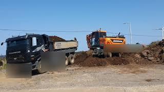 [덤프브이로그2]15톤 덤프와 6W 굴삭기의 콜라보