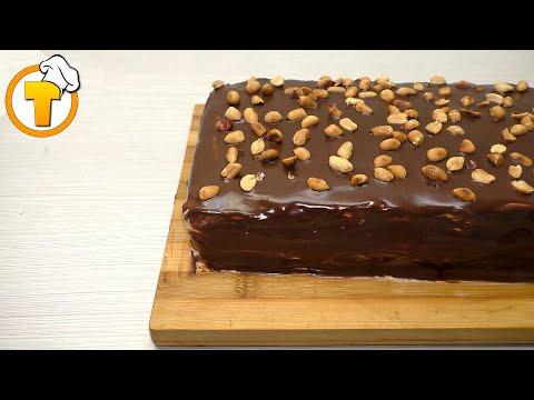 Торт СНИКЕРС. Очень вкусный и нежный. Пошаговый рецепт.