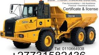 ADT dump Truck Operator Course 0731582436 Ibhayi, eastern Cape, Germiston,Bloemfontein