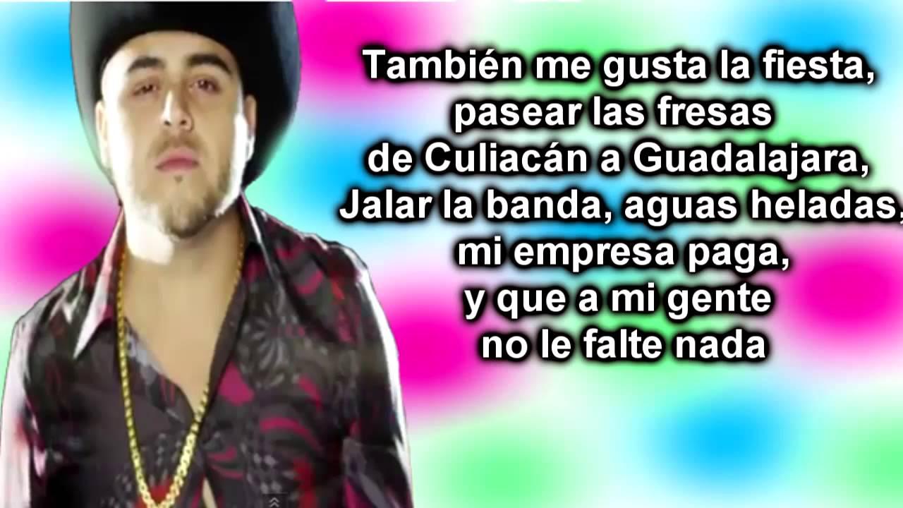 Damaso-Gerardo Ortiz (Con letra) - YouTube