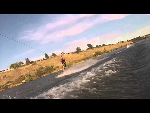 Gopro: Wakeboarding in Moses Lake,WA