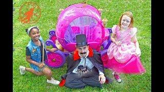 High Top Princess 1 - Princess Sisters and Count Car Thief