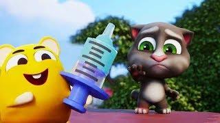 Мой Говорящий Том 2 НОВЫЙ КОСТЮМ Ухаживаем за питомцем игра мультфильм про няшного котика
